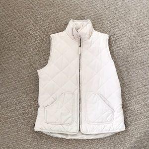 Off-White Puffer Vest